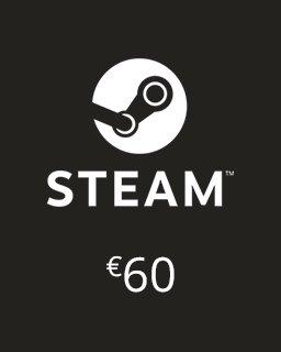 Steam Kredit 60 Euro