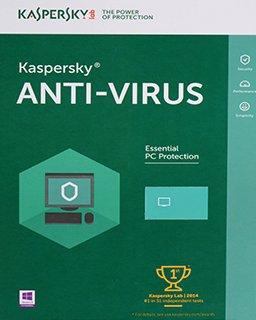 Kaspersky AntiVirus 2017, 1 lic. 1 rok krabice