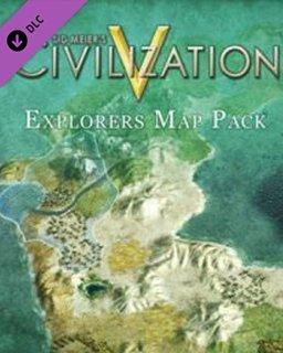 Sid Meiers Civilization V Explorers Map Pack MAC