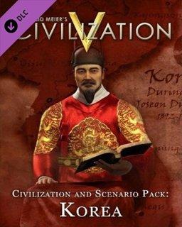 Sid Meiers Civilization V Civilization and Scenario Pack Korea MAC