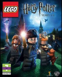 LEGO Harry Potter 1-4 krabice