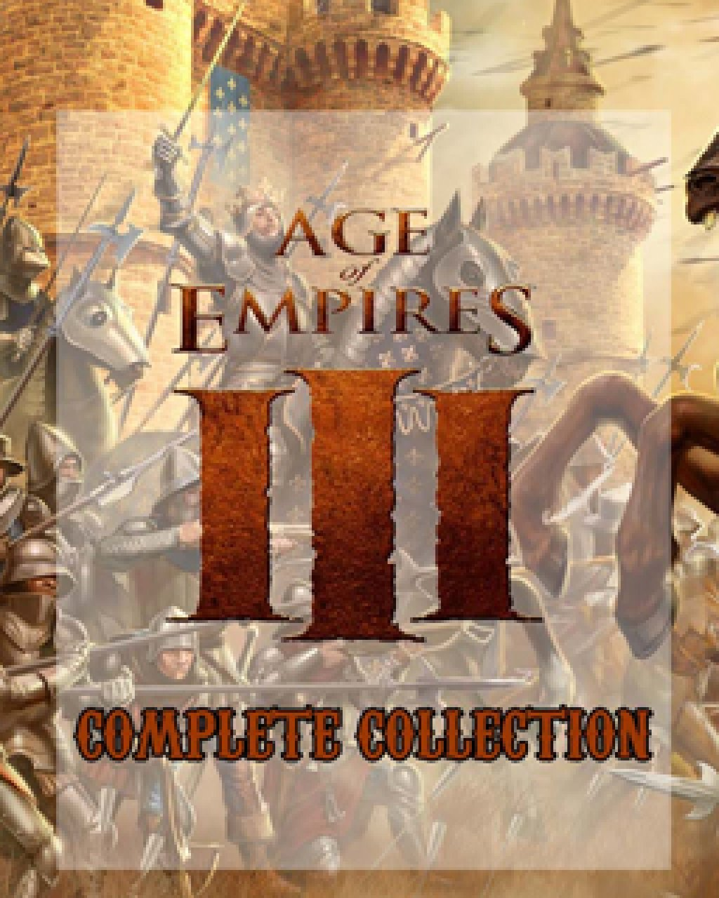 Age of Empires III Complete Collection krabice