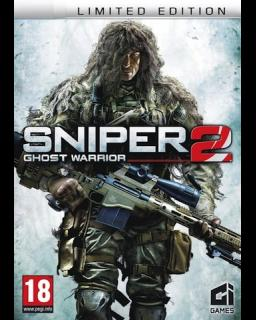 Sniper Ghost Warrior 2 Limited Edition krabice