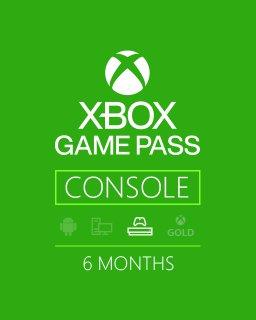 Xbox Game Pass 6 měsíců