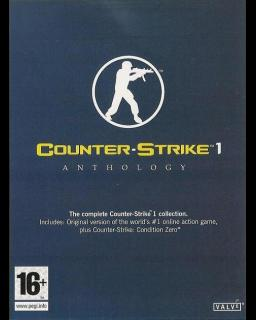 Counter Strike 1 Anthology krabice