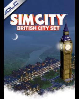 SimCity British City Pack krabice