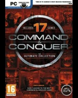 Command and Conquer The Ultimate Collection krabice