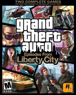 Grand Theft Auto Episodes from Liberty City, GTA 4 EFL krabice