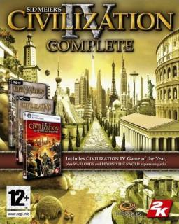 Civilization IV The Complete Edition krabice