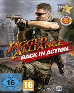 Jagged Alliance Back in Action krabice
