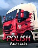 Euro Truck Simulátor 2 Polish Paint Jobs Pack