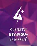 Key4You+ Členství (12 měsíců)