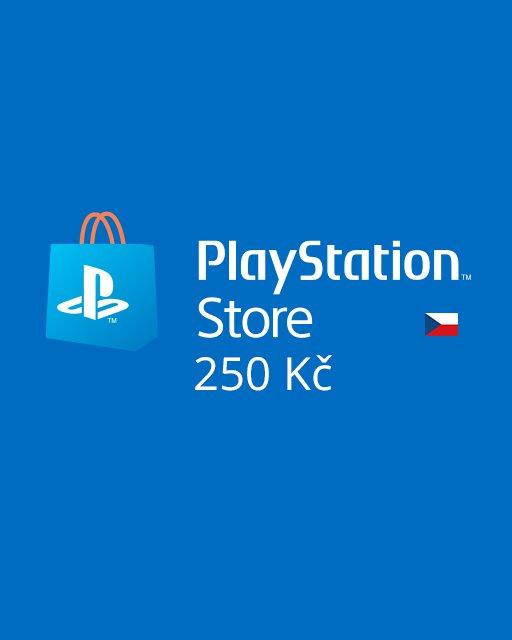 PlayStation Live Cards 250Kč