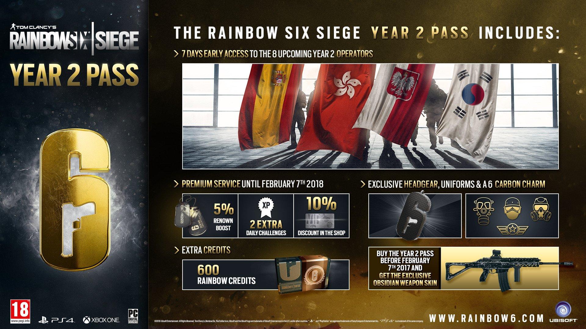 Rainbow six siege новый сезон 2018
