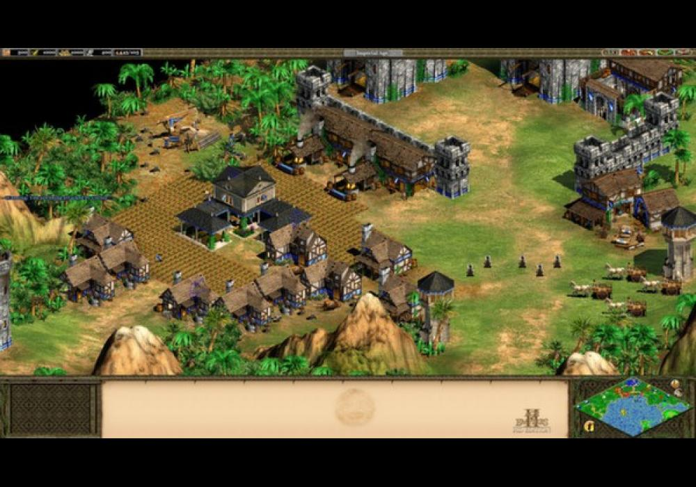 age of empires 2 how to start