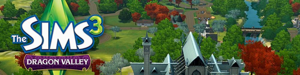 The Sims 3 Údolí draků banner