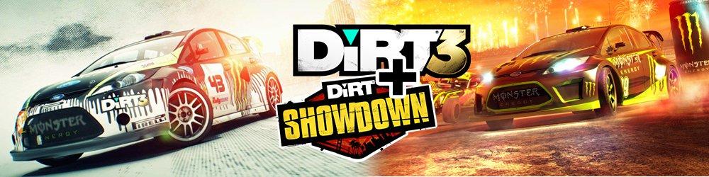 Dirt 3 + DiRT Showdown banner