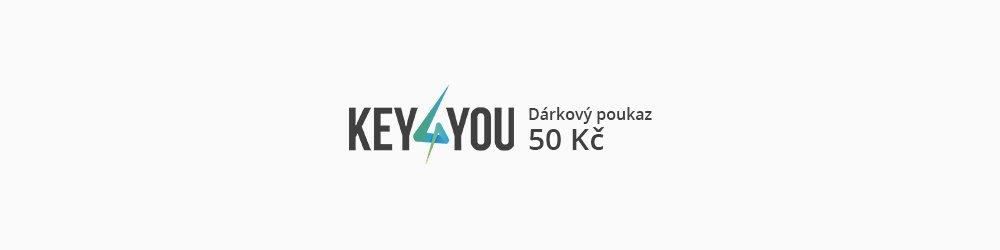 Dárkový poukaz v hodnotě 50,- CZK banner
