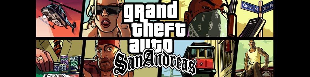 Grand Theft Auto San Andreas, GTA San Andreas banner