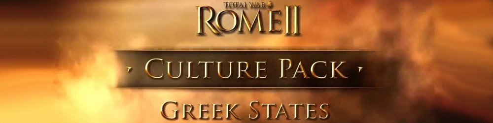 Total War ROME II Greek States Culture Pack banner