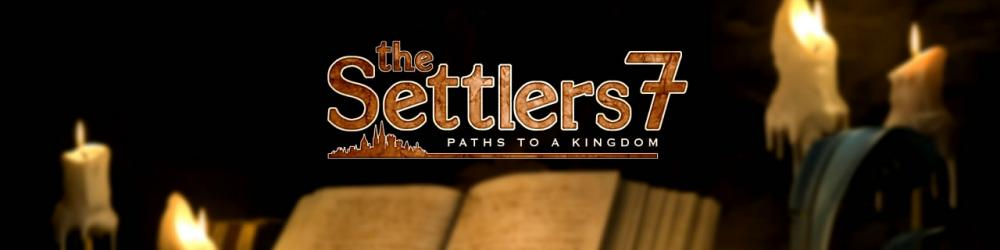 The Settlers 7 Paths to a Kingdom banner