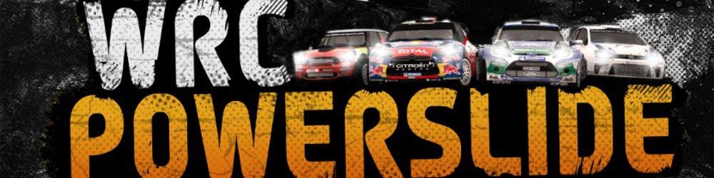 WRC Powerslide banner