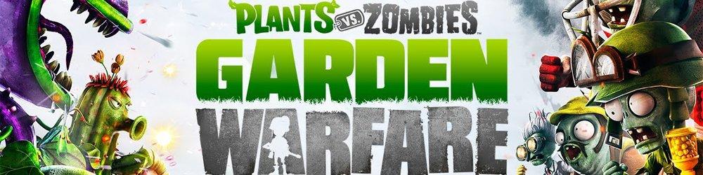 Plants vs Zombies Garden Warfare banner