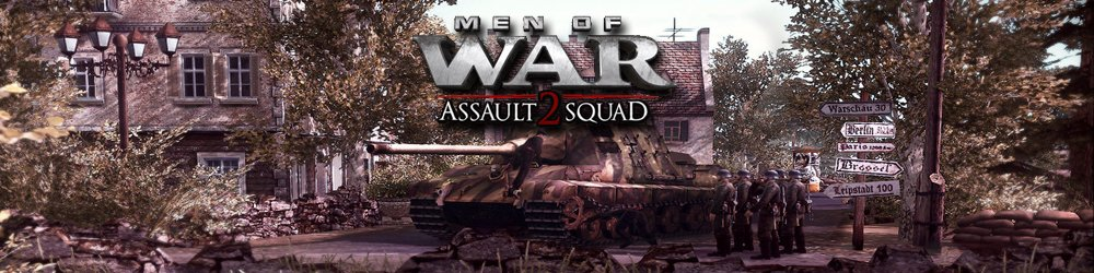 Men of War Assault Squad 2 banner