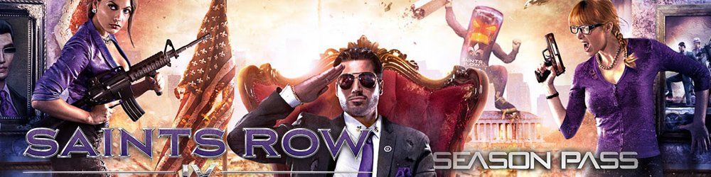 Saints Row IV Season Pass banner