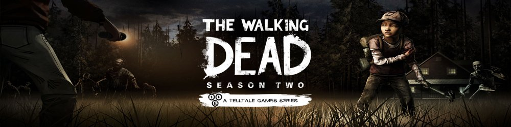 The Walking Dead Season 2 banner