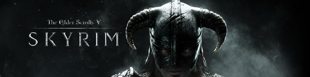 The Elder Scrolls V Skyrim banner