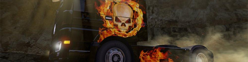 Euro Truck Simulátor 2 Halloween Paint Jobs Pack banner