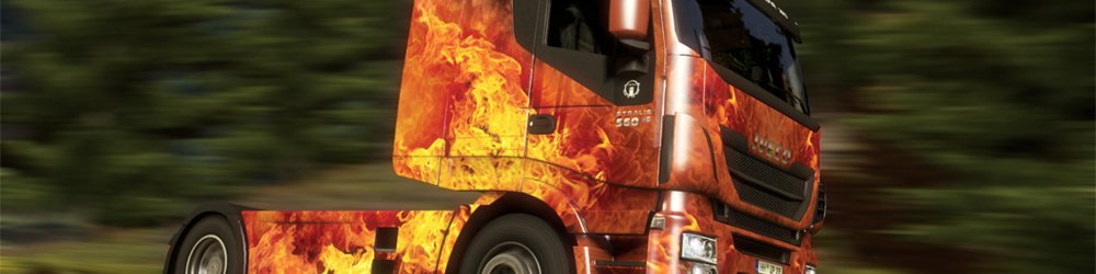 Euro Truck Simulátor 2 Force of Nature Paint Jobs Pack banner