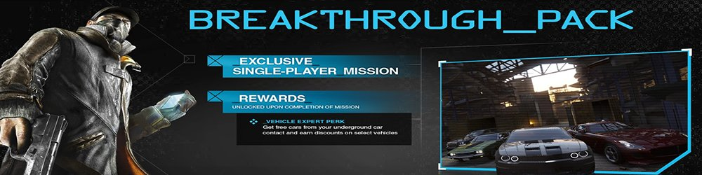 Watch Dogs Breakthrough DLC banner
