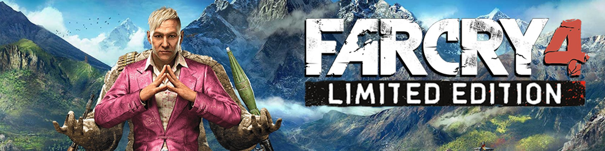 Far Cry 4 Limited Edition banner