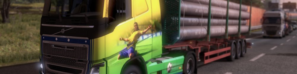 Euro Truck Simulátor 2 Brazilian Paint Jobs Pack banner