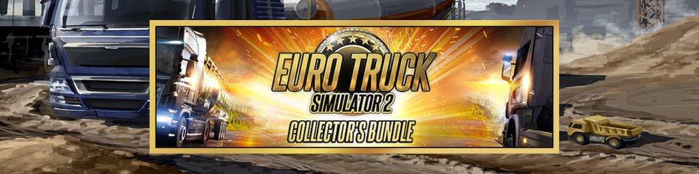 Euro Truck Simulátor 2 Collectors Bundle banner