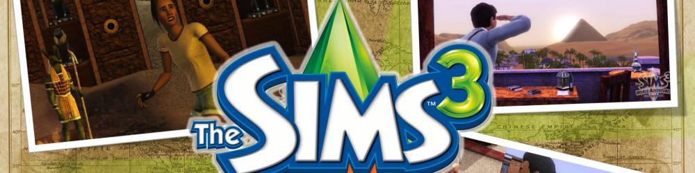 The Sims 3 Cestovní Horečka banner
