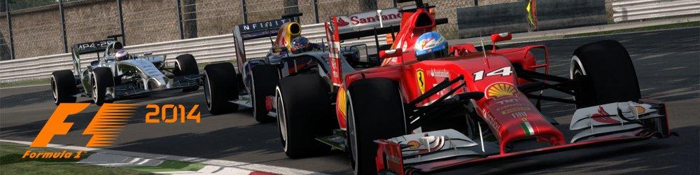 F1 2014 banner