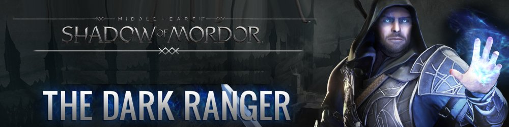 Middle-earth Shadow of Mordor The Dark Ranger banner