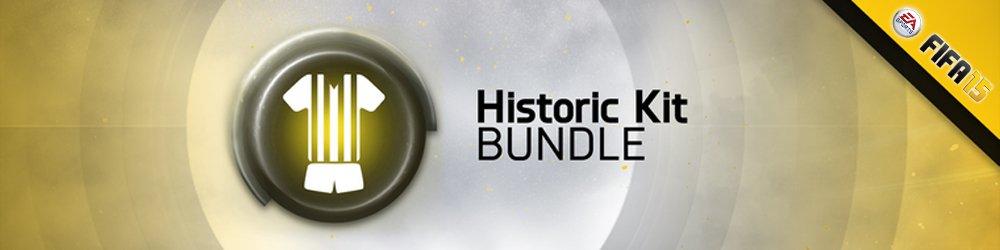 FIFA 15 Historic Club Kits banner