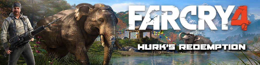 Far Cry 4 Hurks Redemption banner