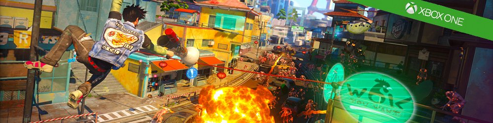 Sunset Overdrive Day One Edition Xbox One banner
