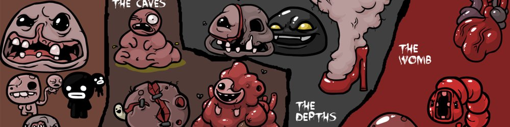 The Binding of Isaac Rebirth banner