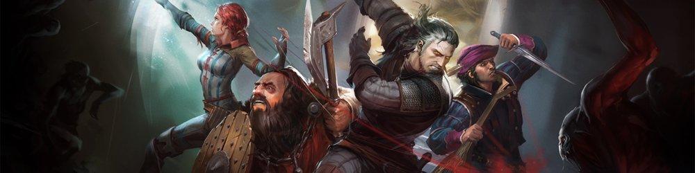 Zaklínač, The Witcher Adventure Game banner