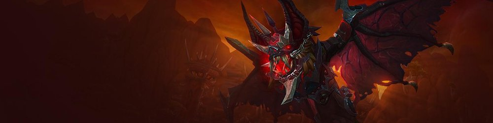 World of Warcraft Armored Bloodwing banner