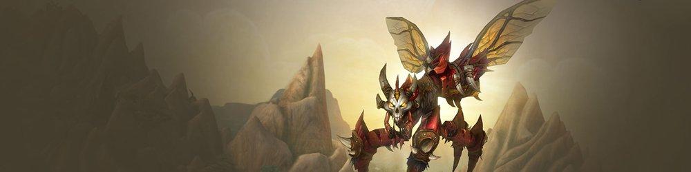 World of Warcraft Grinning Reaver banner