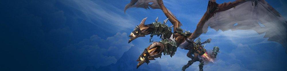 World of Warcraft Iron Skyreaver banner