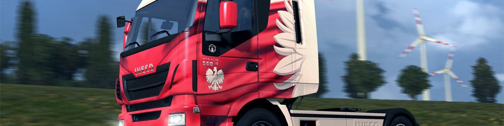 Euro Truck Simulátor 2 Polish Paint Jobs Pack banner