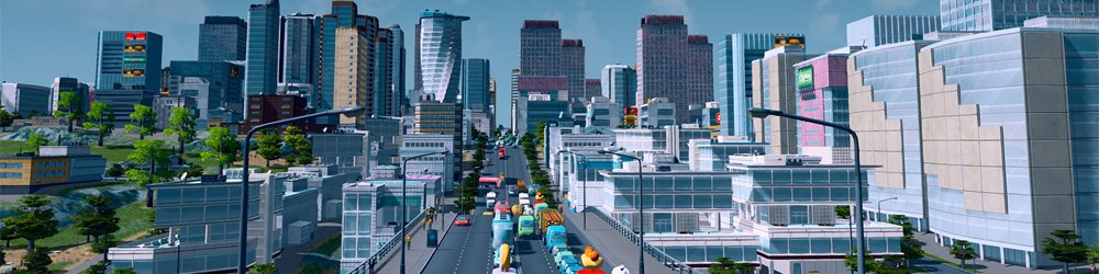 Cities Skylines banner